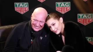 Bella Hadid, nouvelle égérie TAG Heuer, par Jean-Claude Biver Video Preview Image