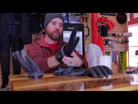 Drysuit Dry Glove Tricks – Scuba Force Thenar Dry Glove Rings – Kubi Killer