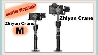 Best gimbal for Cannon G7X  | Zhiyun Crane M