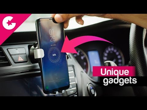 A Unique Car Gadget - Rock Qi Wireless Charging Mobile Holder
