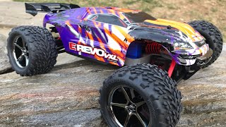 TRAXXAS E-REVO VXL BRUSHLESS 1/16 BASH'N & CRASH'N