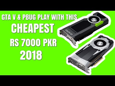 Top  Budget Graphics Cards In Pakistan