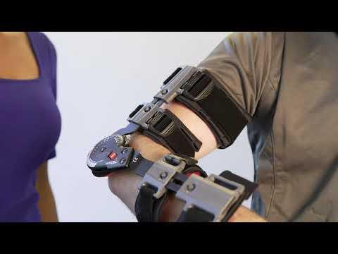 Biceps repair elbow wrap