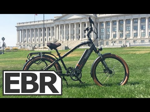 Magnum Cruiser Video Review – $2.1k Relaxed, Stylish, Powerful, Fast E-Bike