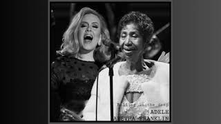 Adele, Aretha Franklin - Rolling In The Deep (Audio)