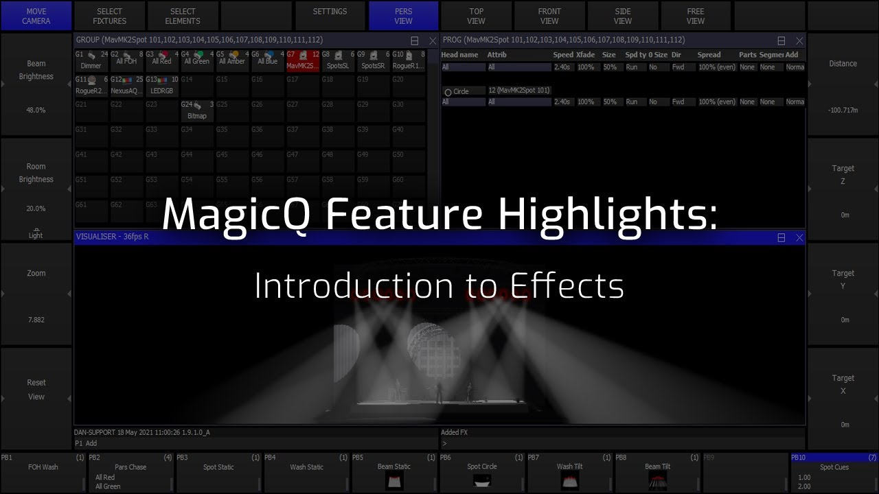 MagicQ Introduction to Effects