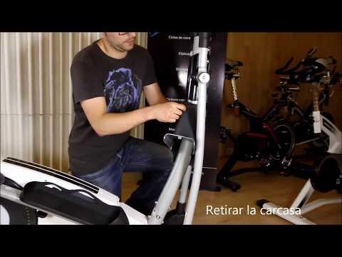 Reapretar y lubricar los tornillos de las bicicletas elípticas BH