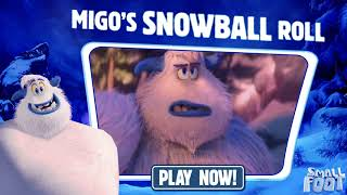 SMALLFOOT - Snowball Roll - September 28 - Video Youtube