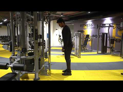 Cable One Arm Pushdown