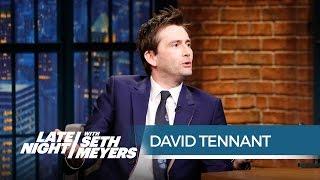Late Night with Seth Meyers : David parle de son rôle dans Jessica Jones (24.11.2015)