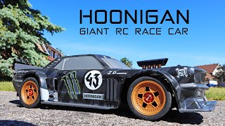 ZD Racing EX07 HOONIGAN RC Race Drift Car - So Fast I blew the tires! Review
