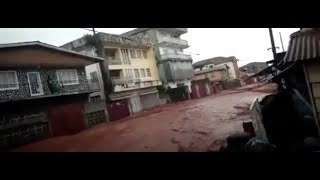 "Breaking: ""Apocalyptic Mudslide Hundreds Dead Sierra Leone"""