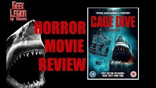 OPEN WATER 3  CAGE DIVE  2017 Joel Hogan  Shark Attack Horror Movie Review