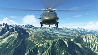 MSFS 2020  Sikorsky UH-60 BlackHawk  LFHU France