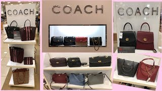 COACH Bag Collection 2020* Handbags,Purses,Backpacks |Shop With Me At Macys #February2020