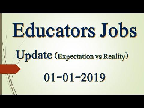 Educators Jobs in Punjab latest news update 1-1-2019 | Digitalized