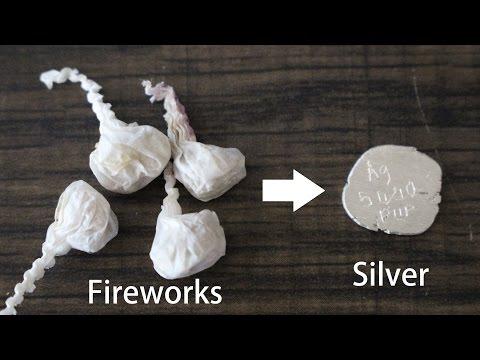 Stříbro z práskacích kuliček