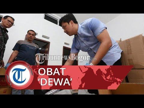 Polisi Gerebek Kontrakan Penyimpanan dan Pengolahan Obat Daftar G di Bogor