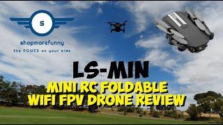 LS-MIN Mini RC Foldable WiFi FPV Drone Review - Shopmorefunny