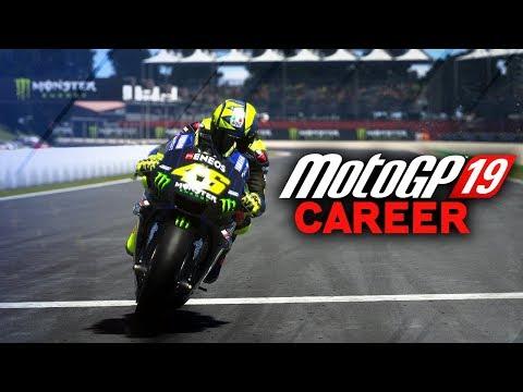 MotoGP 19 Career Mode Gameplay Part 1 - MOTO 3 BEGINS! (MotoGP 2019 Game Career Mode PS4 / PC)