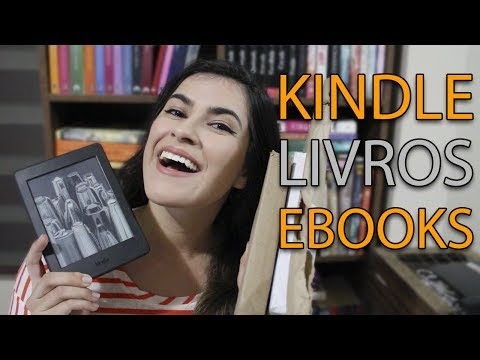 UNBOXING E BOOKHAUL DE JANEIRO | Kindle Paperwhite, livros e ebooks