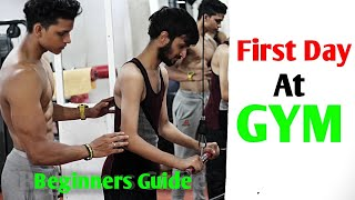 First Day at GYM | Beginners Full Workout | Yash Anand