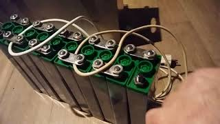 Solar Flugzeug Batterie Varta FP45H1C Nickel Cadmium Akku 1,2V 45Ah  2x12V schalten o. 1x24V lassen