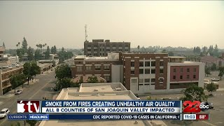 Air quality in Bakersfield reaches 'Very Unhealthy' levels