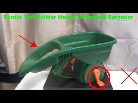 ✅  How To Use Scotts Turf Builder Handy Broadcast Spreader Review
