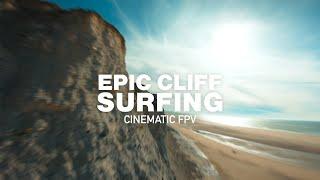 Surfer des falaises de 134m en drone FPV!