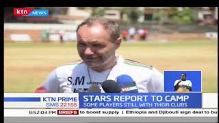Harambee stars kicks off preparations for AFCON, CHAN