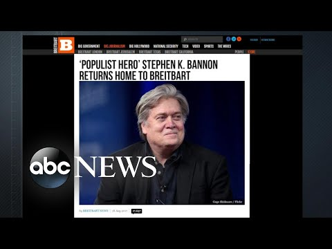 Bannon returns to Breitbart
