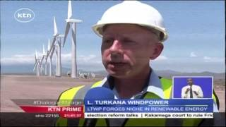 Lake Turkana wind power project way ahead of schedule with 44 Turbines up