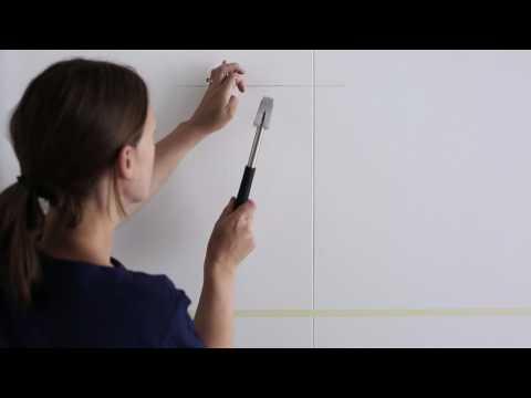 IKEA - Bilder aufhängen: Der Straight-Line-Trick