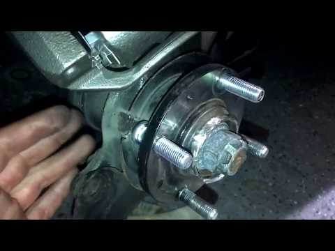 2008 Hyundai accent wheel stud replacement