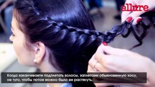 Французская коса: видеоинструкция