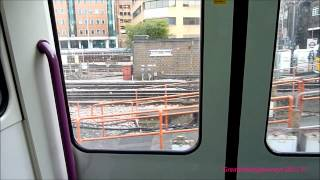 preview picture of video 'Departing Harrow-on-the-Hill onboard Metropolitan 'A' Stock train.'