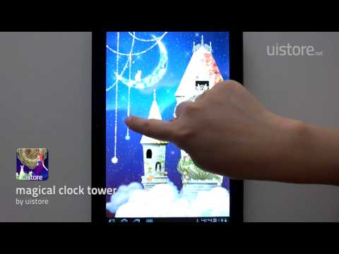 Video of magical clock tower LWallpaper