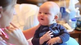 Talking Baby at 3 Months Old