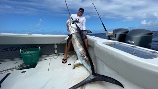 Massive Swordfish *HAND CRANK 2000' deep* {Catch Clean Cook} Ft. StanzFam