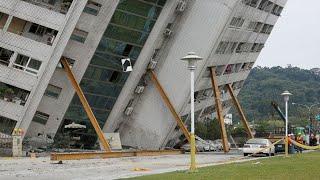 Смотреть онлайн Подборка видео с землетрясениями