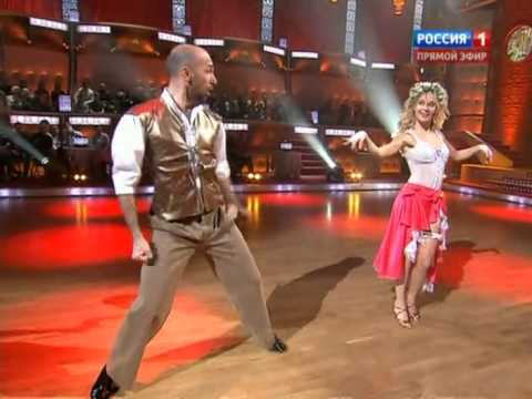 Глюк'oZa и Евгений Папунаишвили - самба видео
