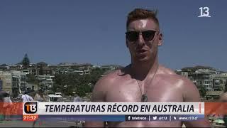 Temperaturas récord en Australia
