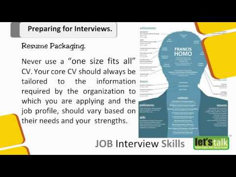 Interview Skills training - 3 - Prepration for an Interview. - YouTube