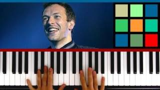 How To Play 'Paradise' Piano Tutorial (Coldplay)