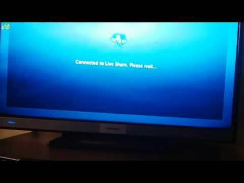 GRUNDIG 32 VLE 6520 BP  Using Wi-Fi Miracast ™ via Win 10
