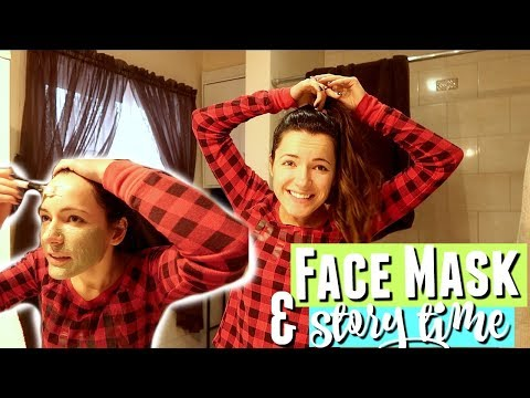 Face mask na may flax harina
