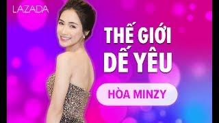 [Lazada 12.12] Livestream chọn Dế yêu cùng Hòa Minzy