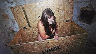GIRL FOUND TRAPPED IN BOX IN ABANDONED HOUSE!! WE SAVED HER!! NOT CLICKBAIT!