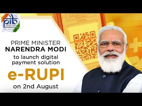 PM Narendra Modi launches e-RUPI digital payment solution